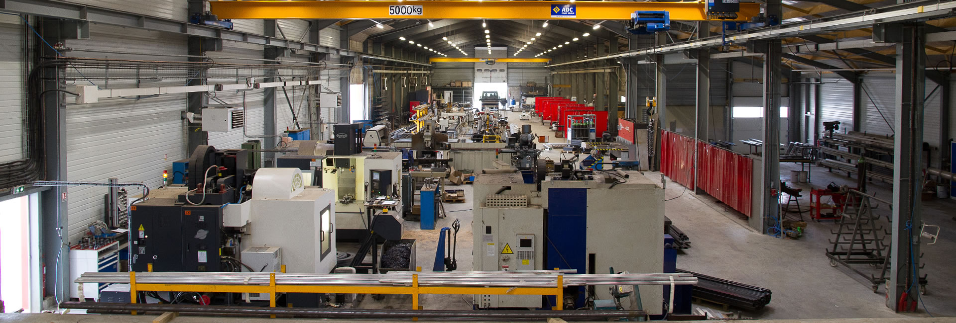 Ateliers et machines de Normoutils Industrie